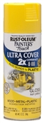 2X Painter's Touch Spray Paint Gloss Sun Yellow