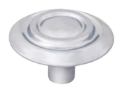 "1-1/4"" Scroll Cabinet Knob - Satin Nickel"