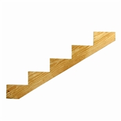 5 Step Ground Contact Treated Stair Stringer