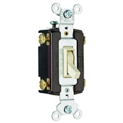 Ivory 15 Amp 120 Volt 4-Way Toggle Switch