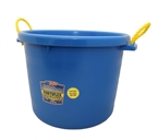 70 Quart Barn Bucket, Blue