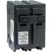 Square D Homeline HOM220CP Miniature Circuit Breaker, 120/240 V, Fixed Trip, Plug-In Mounting
