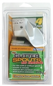 Replacement Gutter Spout Extension - 4 Pack