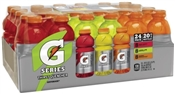 20 Oz. Ready-to-Drink Thirst Quencher Sports Drink, Multi-flavor, 24 Pack