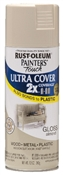 2X Painter's Touch Spray Paint Gloss Almond
