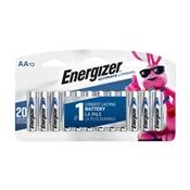 Energizer L91SBP-12 AA Batteries, 12 Pack