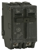 GE Industrial Solutions THQL2120 Type THQL Feeder Circuit Breaker, 120/240 V, Non-Interchangeable Trip, Plug-In Mounting