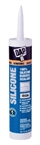 100% Silicone Caulk, Clear