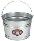 Round Galvanized Steel Tub - 4 Gallon