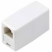 White, Modular Line Coupler