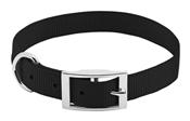 """Pet Expert Dog Collar, Black, 1"""" x 19-22"""""""