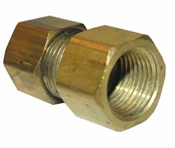 "1/2"" Compression x 3/8"" Female Pipe Thread Adapter"
