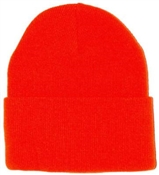 Watch Cap Orange - One Size Fits All
