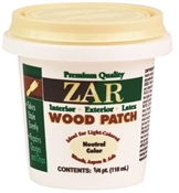 Latex Wood Patch, Neutral, Interior/Exterior, 1/4-Pt.