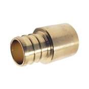 Apollo APXMS3434 Pipe Adapter, 3/4 in PEX, 3/4 in Male Solder