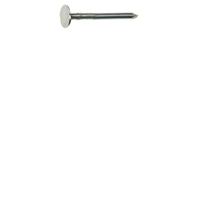 "1"" Smooth Shank Electrogalvanized Roofing Nail 5LB"