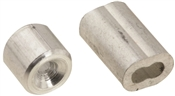 National Hardware V3231 Series N283-846 Ferrule and Stop, 1/16 in Dia Cable, Aluminum