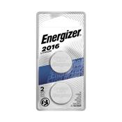 Energizer  2016BP-2N Lithium 3V Batteries, 2 Pack