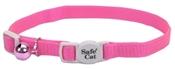 """Safe Cat Pink Cat Collar, 12"""""""