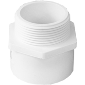 "1-1/2"" Schedule 40 Male Adapter (Slip x MIP)"