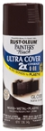 2X Painters Touch Spray Paint Gloss Kona Brown