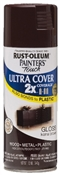 2X Painter's Touch Spray Paint Gloss Kona Brown