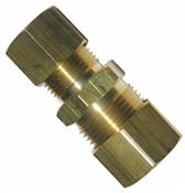 "1/2"" x 3/8"" Brass Compression Union"