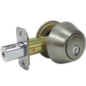 Deadbolt Double Cylinder Truguard G3, Satin Nickel