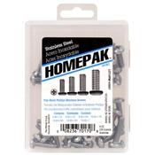 HOMEPAK PHP Stainless Steel Machine Screws Assortment