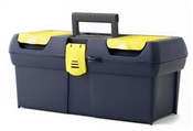 Latch Tool Box with Tote Tray