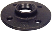 "1/2"" Black Floor Flange"