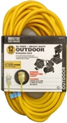 12/3 Extension Cord Yellow 50'