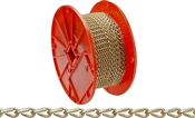 Campbell 072-1667 Double Loop Chain, No 16, 200 Ft L, 11 Lb, Low Carbon Steel