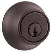 Single Cylinder Deadbolt, Venetian Bronze