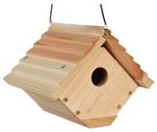 """Audubon, 7.5"""" Traditional Wren Bird House"""