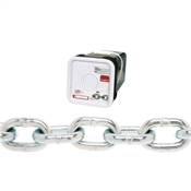 Campbell 014-3336 Proof Coil Chain, 800 lb Working Load Limit, 3/16 in, Galvanized Steel