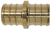 "3/4"" Brass Pex Coupling, 10 Pack"