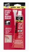Kitchen & Bath Caulk White 2.8 Ounce