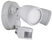 1200 Lumen LED Twin Security Light, White