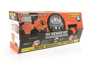 15' Rhinoflex RV Sewer Hose Kit