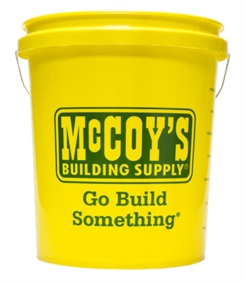 McCoy's Logo Bucket, 5 Gallon