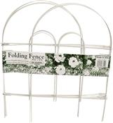 Glamos Wire 777009 Garden Fences, Folding, White