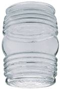 CLEAR PORCH JELLY JAR