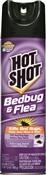 Hot Shot Hg-96010 Bed Bug Killer, 17.5 Oz, Liquid, Clear, Glycol Ether