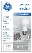 75 Watt Rough Service Bulb