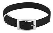 """Pet Expert Dog Collar, Black, 3/4"""" x 17-20"""""""