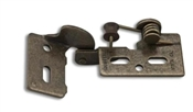 """YOUNGDALE CABINET HINGE #6 1/2"""" ANTIQUE BRASS"""