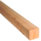 "4x4-8' (Actual: 3-1/2""x3-1/2"") #2 Or Better Rough Cedar"