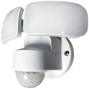 2200 Lumen LED Twin Secrity Light, White