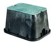 "Extension Valve Box 12"" Rectangle"